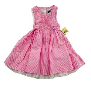 12 Month NWT Ralph Lauren Pink Dress